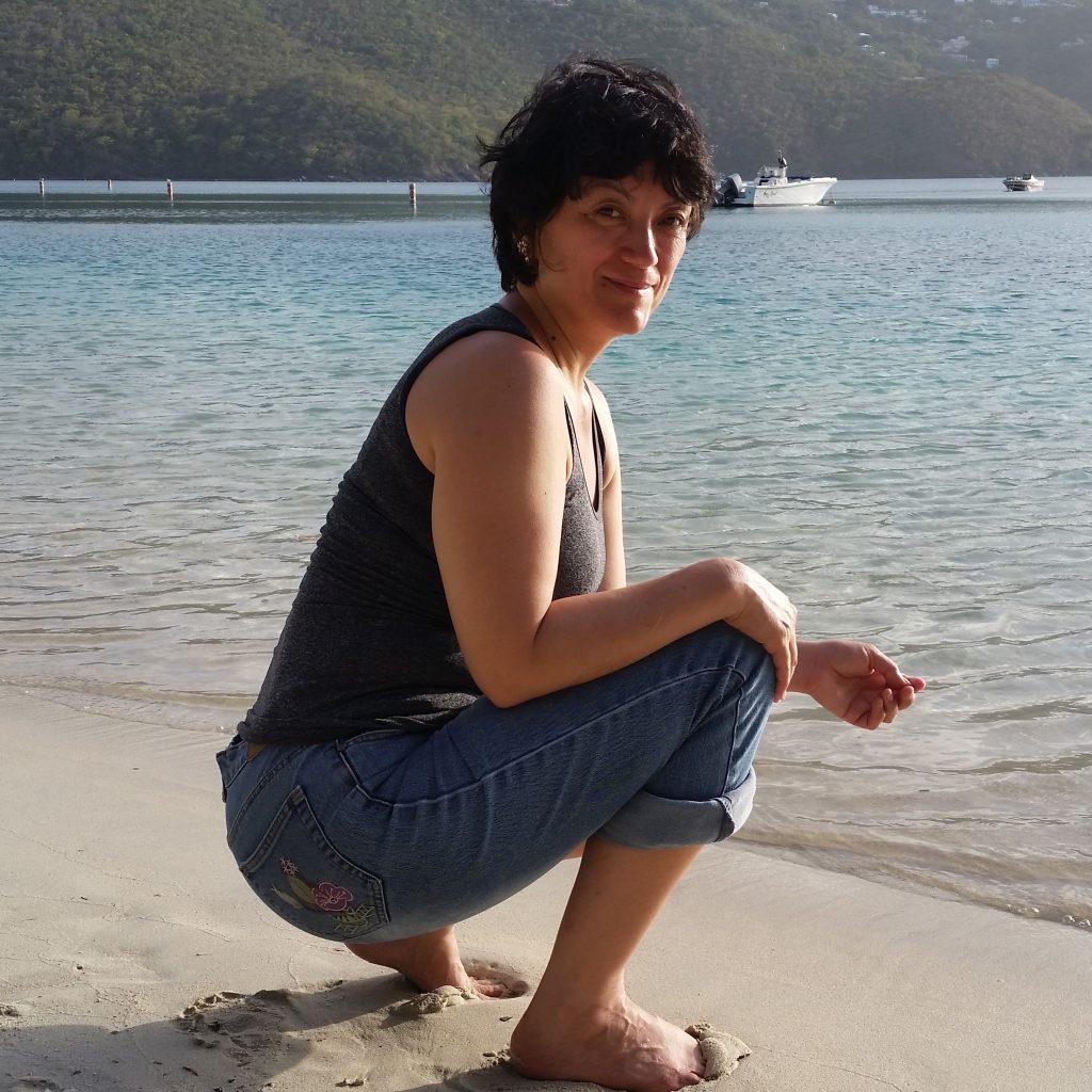 Picture of Jini in St. Thomas Dec. 2015