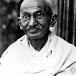 Radiant Acquiescence - Connecting Quotes - picture of Ghandi