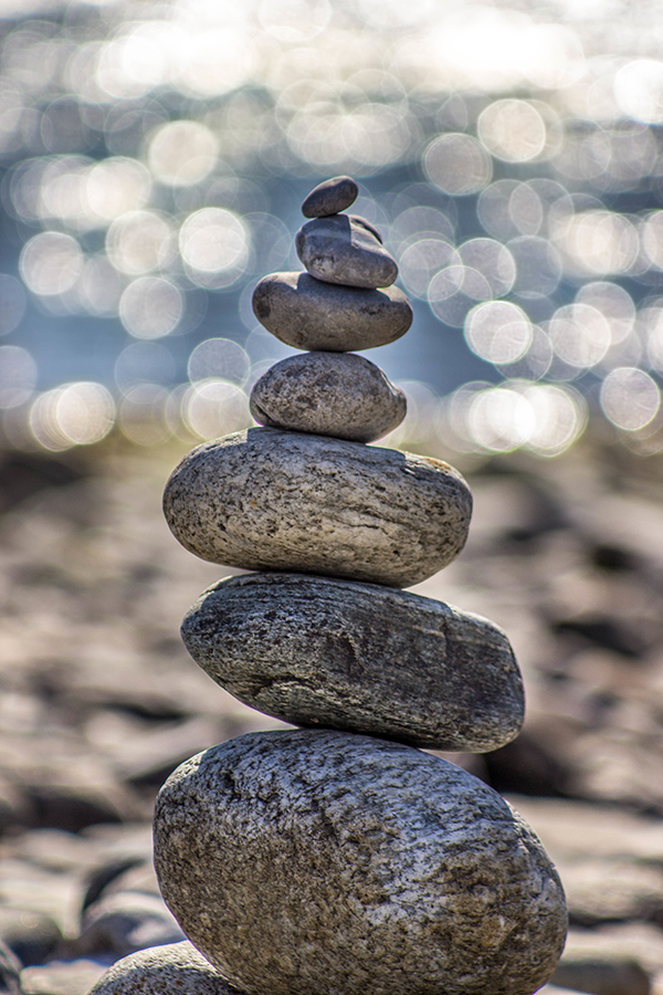 Radiant Acquiescence - Virtues - Open-Mindedness - Photo of stacked rocks keeping balance